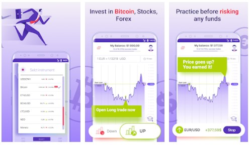Investing Game - Aplikasi Simulasi Trading Saham